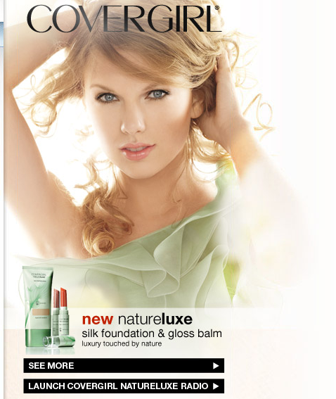 Week 7 4 Covergirl Uses Pandora To Advertise The New Silk